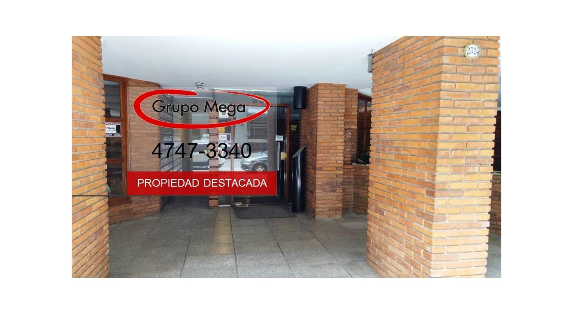EXCELENTE PISO 5 AMB C/BALCÓN, PATIO, COCHERA, SEGURIDAD