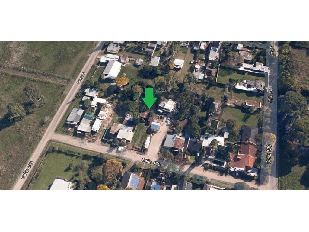 Terreno en venta en City Bell calle 480e/ 138 y 139 Dacal Bienes Raices