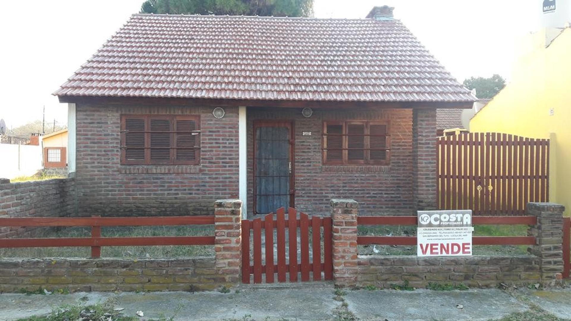 Casa en Venta en Costa Azul - 2 ambientes
