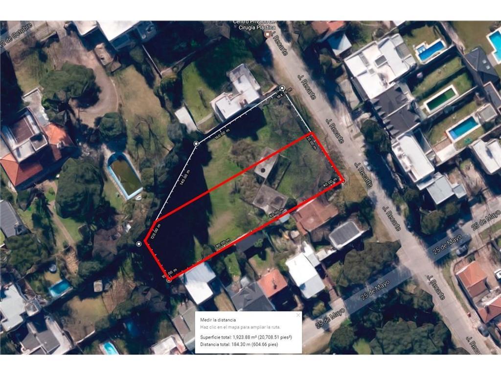 Lote/Terreno residencial 1.106 m² en Monte Grande