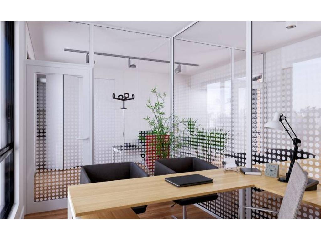 Oficinas en el centro de Rosario - Edificio de diseño