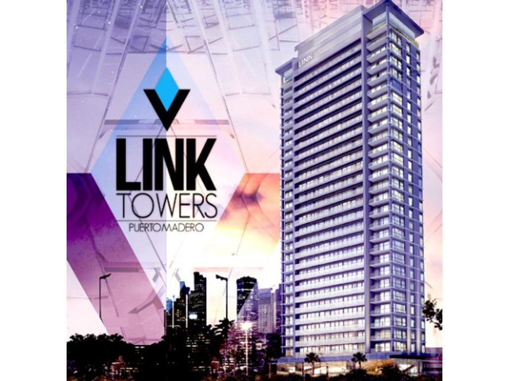 Exclusivo 2 ambientes en The Link Towers - departamento en pozo