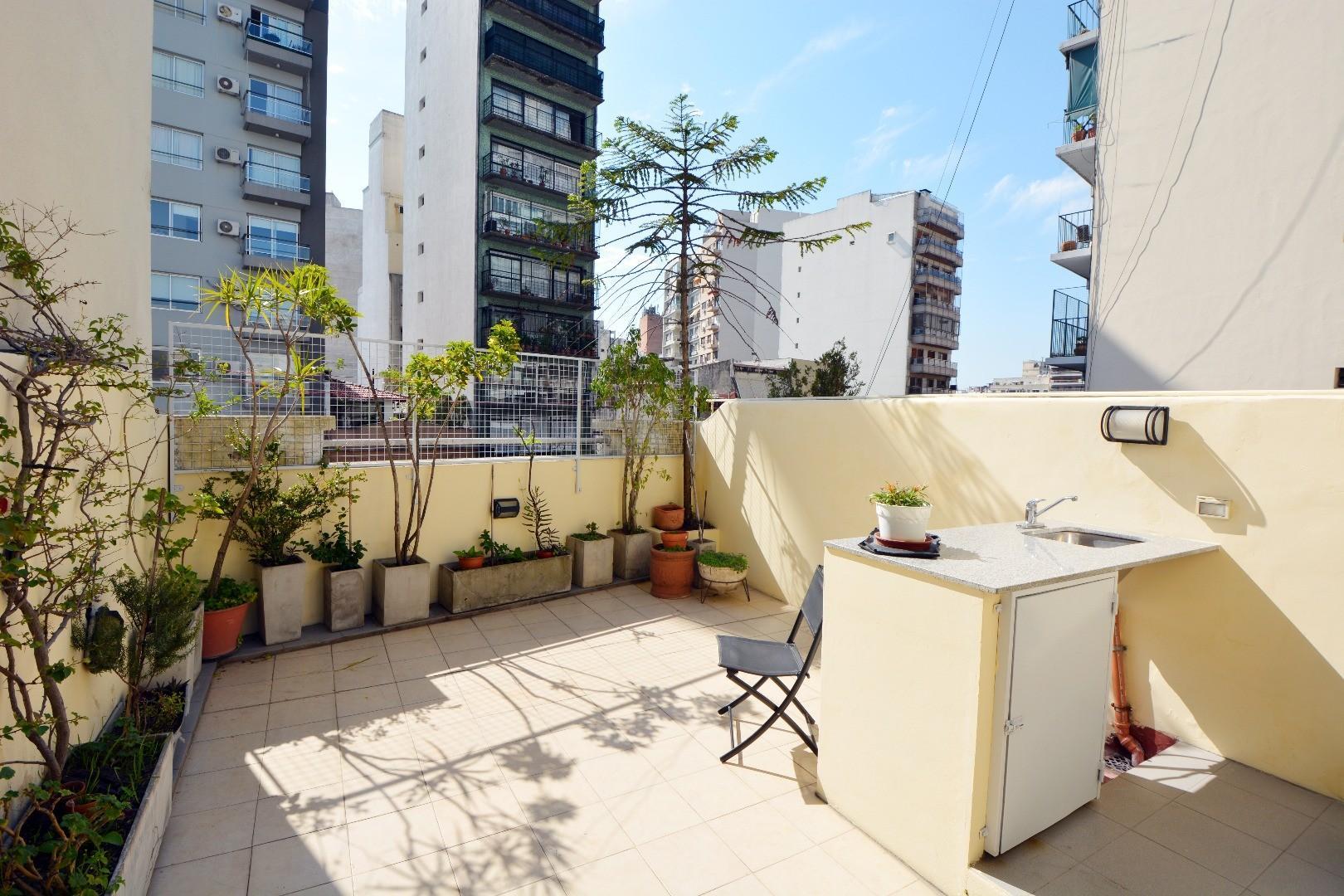 4 Ambientes + Dep. , Barrio Norte , Duplex , Terraza propia , Muy Luminoso