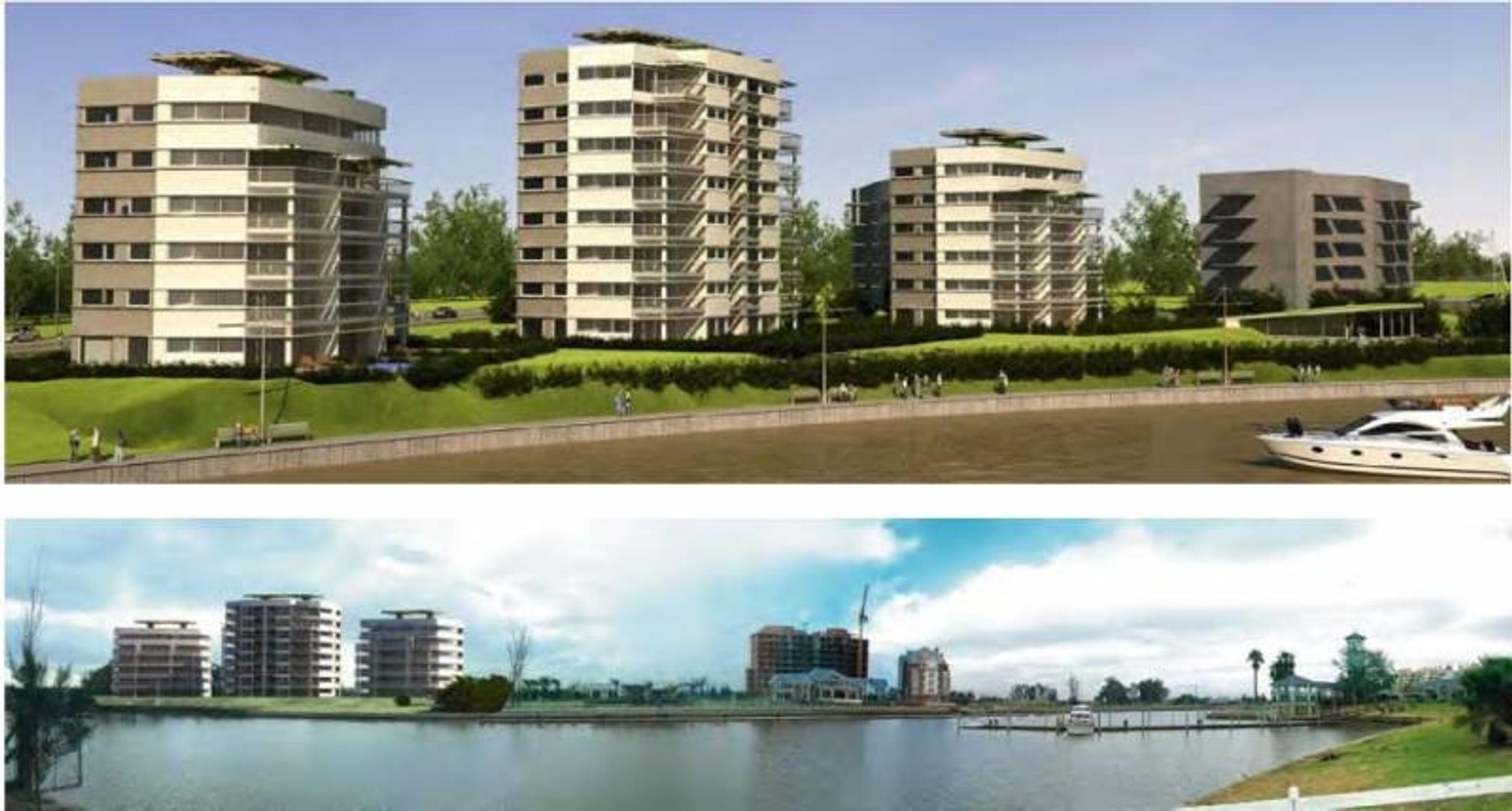 NORDELTA | MARINAS DEL CANAL | Departamento al Rio en venta