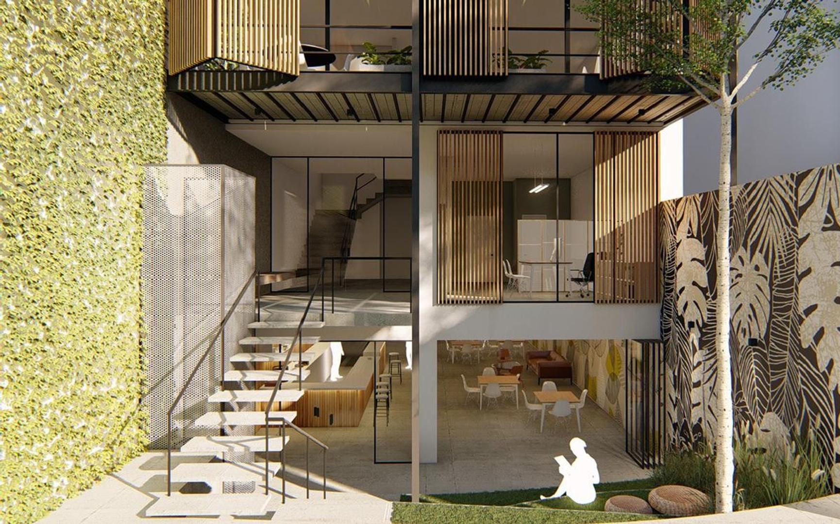 Oficina - 29 m² | 1 baño | A Estrenar