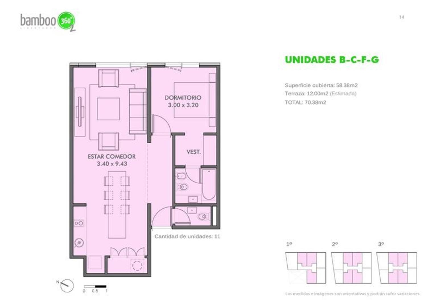 Departamento en Venta - 2 ambientes - USD 230.000