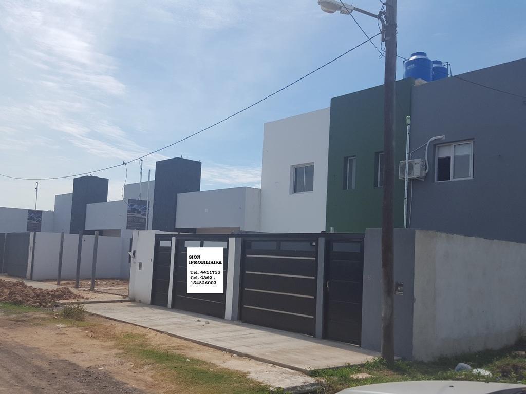 Dúplex a Estrenar Zona Norte 2 dormitorios 2 Baños, patio, cochera 0362-154826003