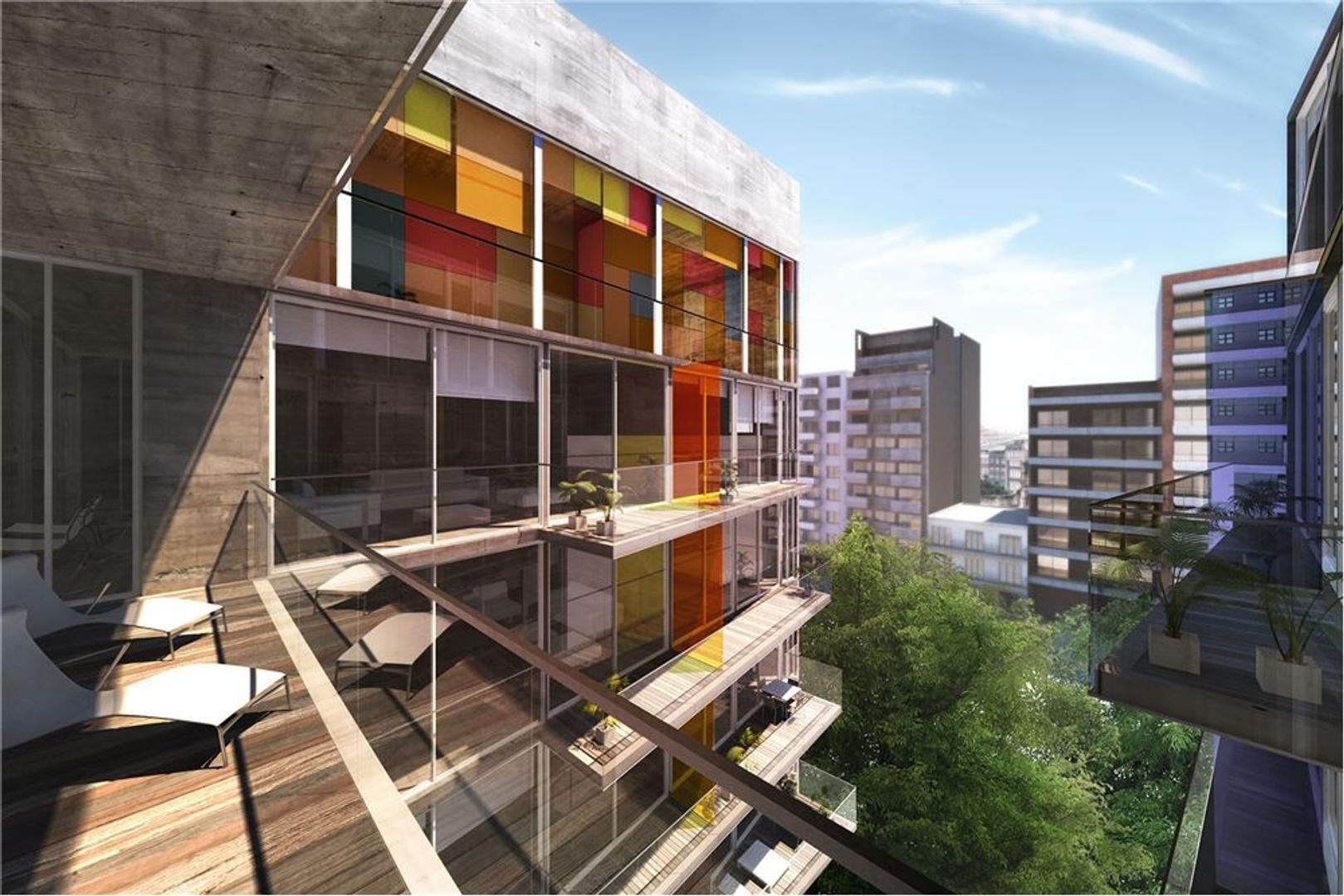 Arquitectura, arte y luz en Palermo: Dos ambientes