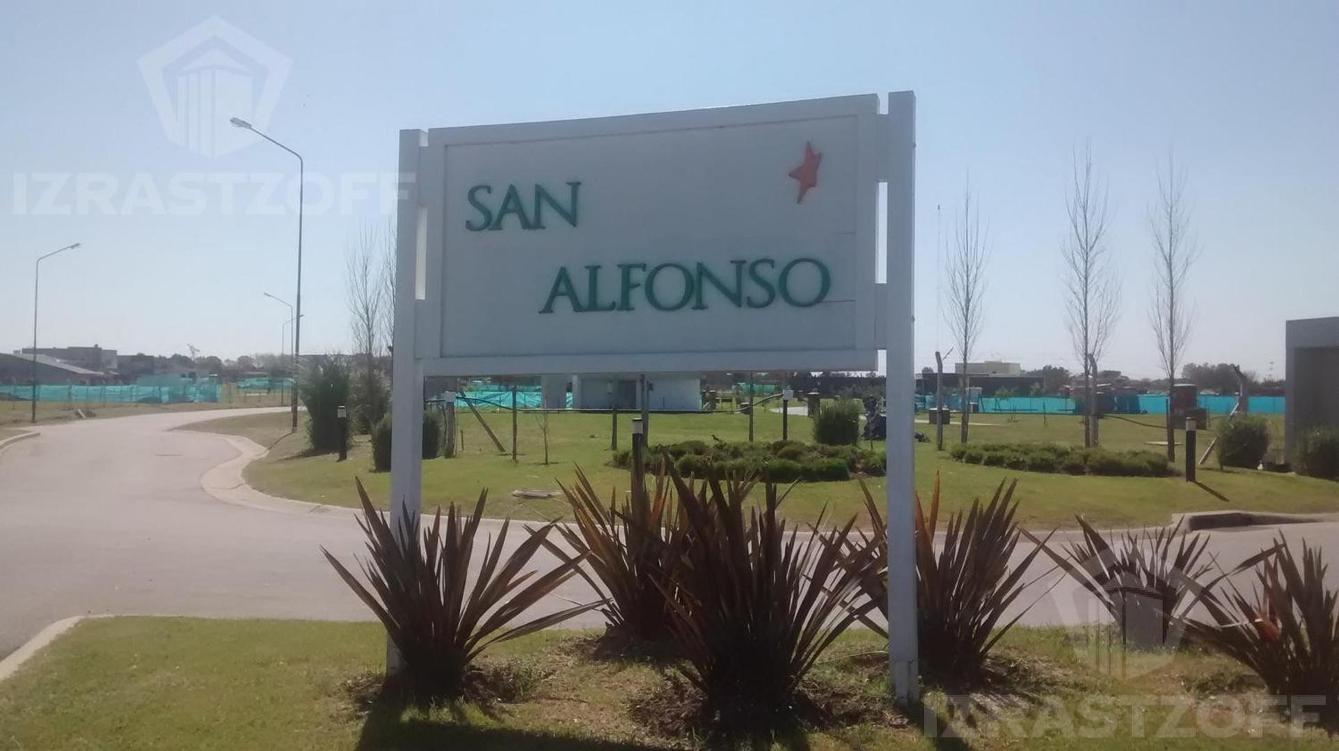 VENTA EXCELENTE LOTE EN EL BARRIO SAN ALFONSO  DE 431 MTS .