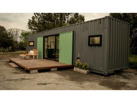 Casas Container totalmente equipadas con lo ultimo en diseño!!!