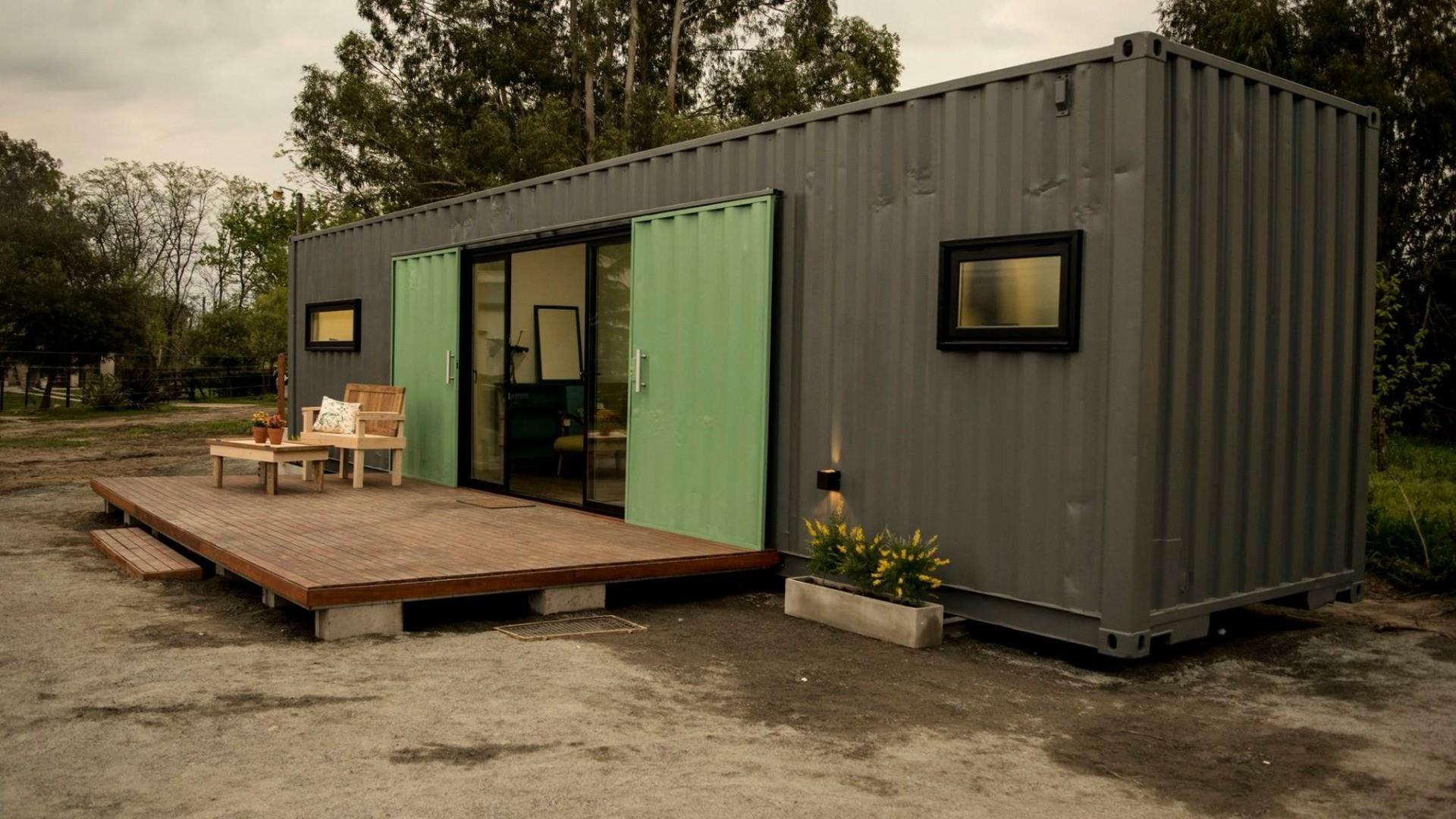 Casa en venta en casas container con lo ultimo en dise o for Diseno de oficinas con contenedores