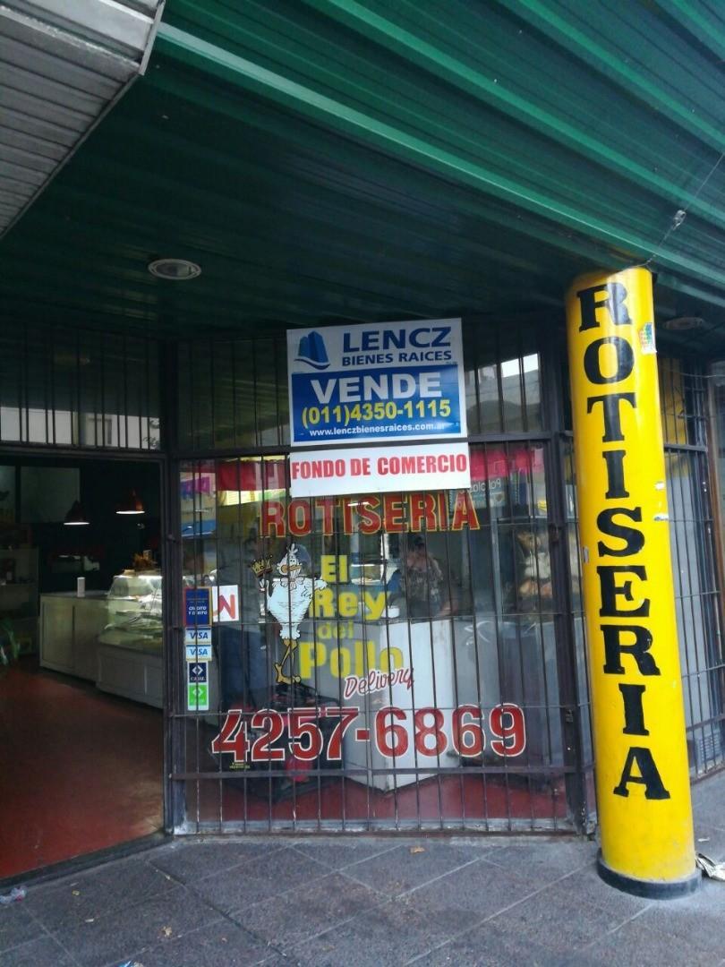 """VENTA FONDO DE COMERCIO ROTISERIA """" EL REY DEL POLLO"""" -QUILMES CENTRO"""