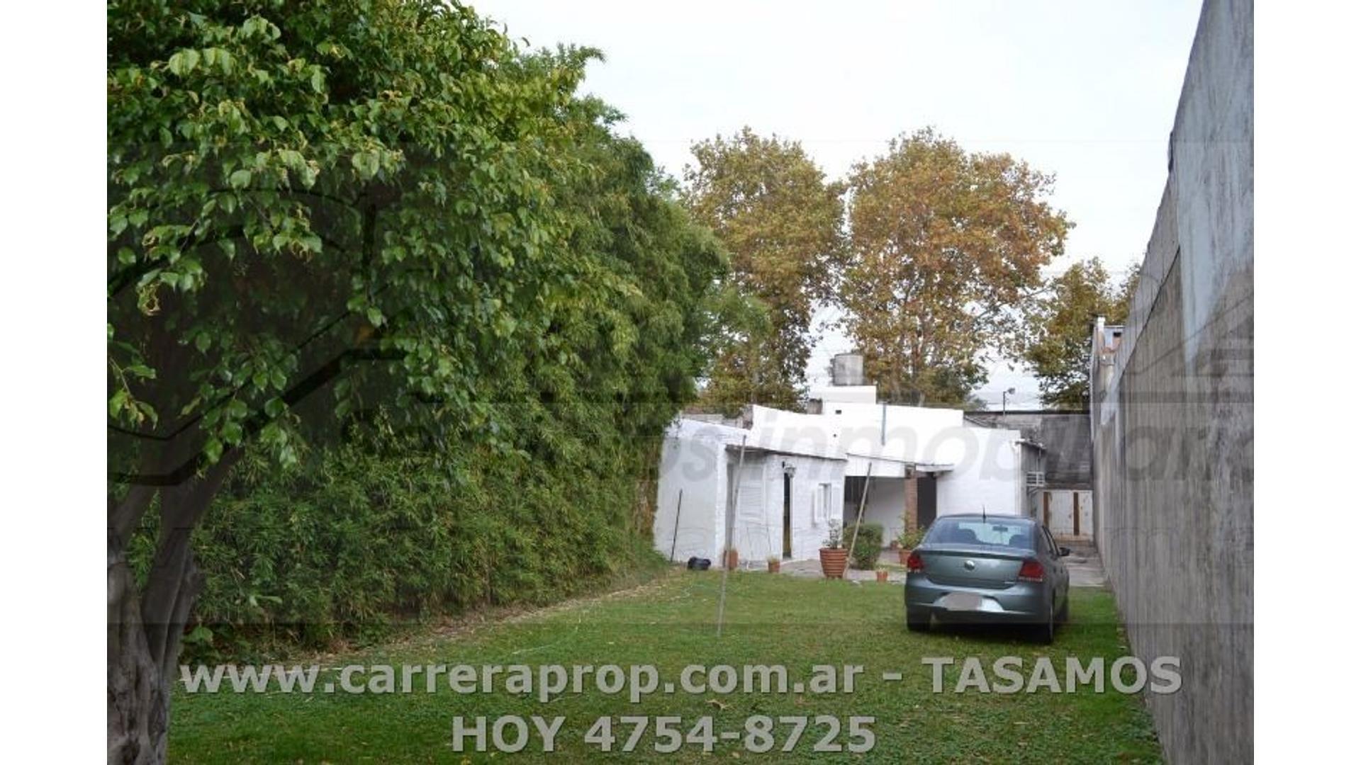 Casa 3 amb FONDO LIBRE en V.Maipu www.carreraprop.com.ar - tasamos HOY