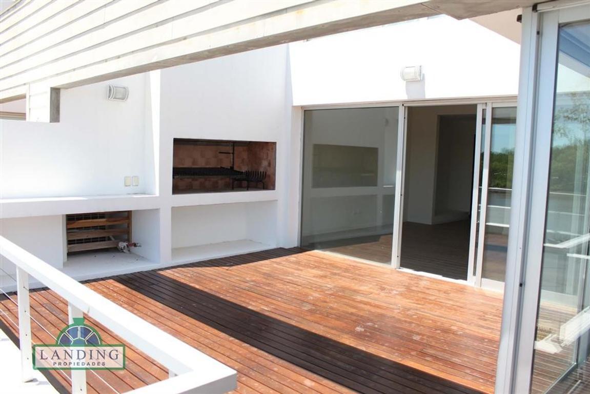 Albanueva Dormy 3 Ambientes con terraza al río. Baulera y Cochera Incluídas