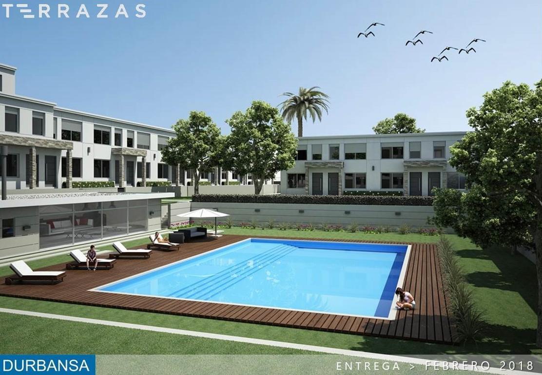TERRAZAS / 54 unidades funcionales de 3 y 4 ambientes en tipologia de Town Houses con cochera propia