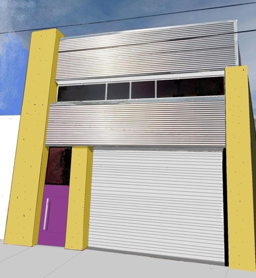Alquiler Inmueble Industrial - 720m2 - Villa  Lynch