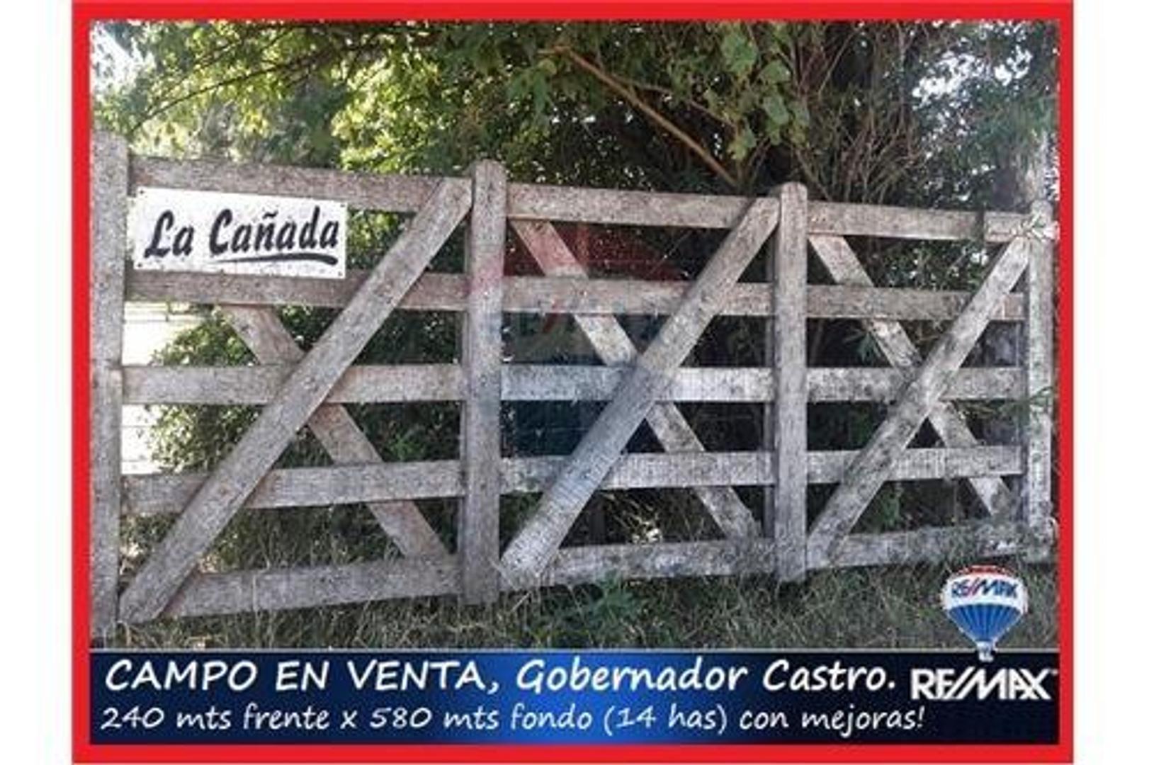 Chacra CON MEJORAS 14 has U$S 125.000  mira