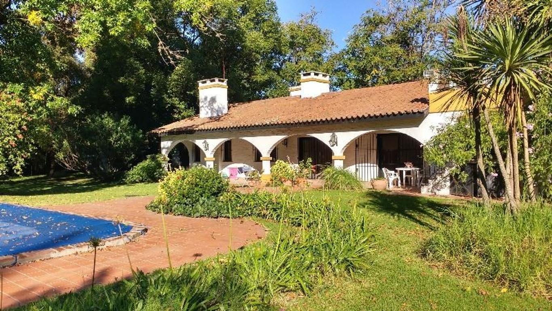 DEL VISO, (PANAMERICANA KM 41.5)  MUY BUENA CASA ,  PARQUE, PILETA, QUINCHO  CCHA DE TENIS