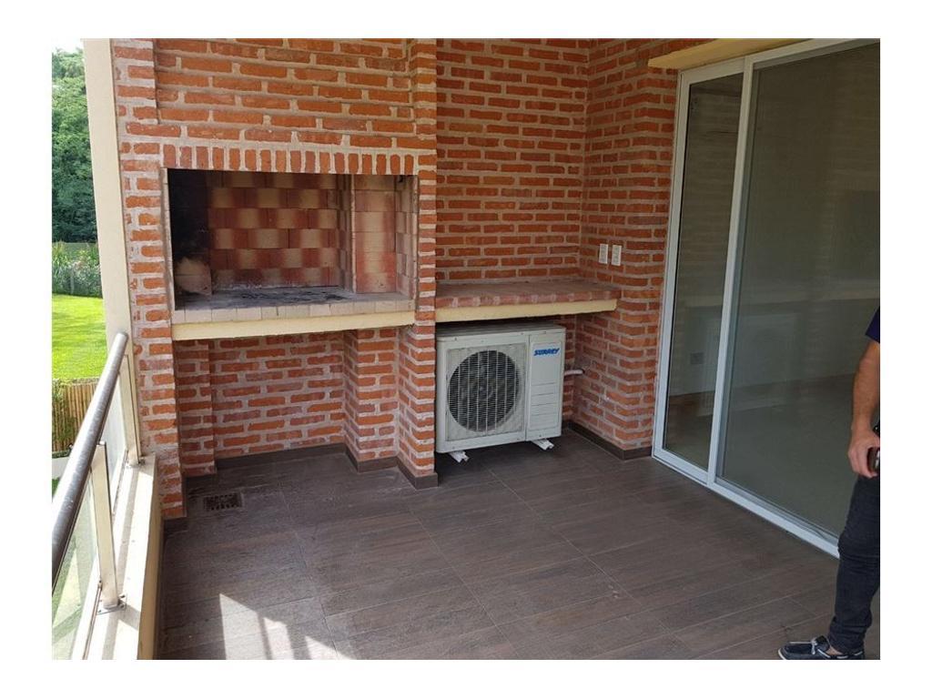 Departamento 2 ambientes con balcon aterrazado