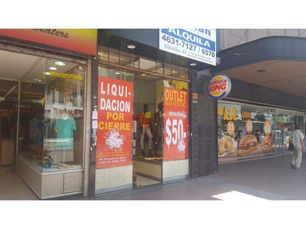 LOCAL EN FOCO COMERCIAL FLORES - 40 m2