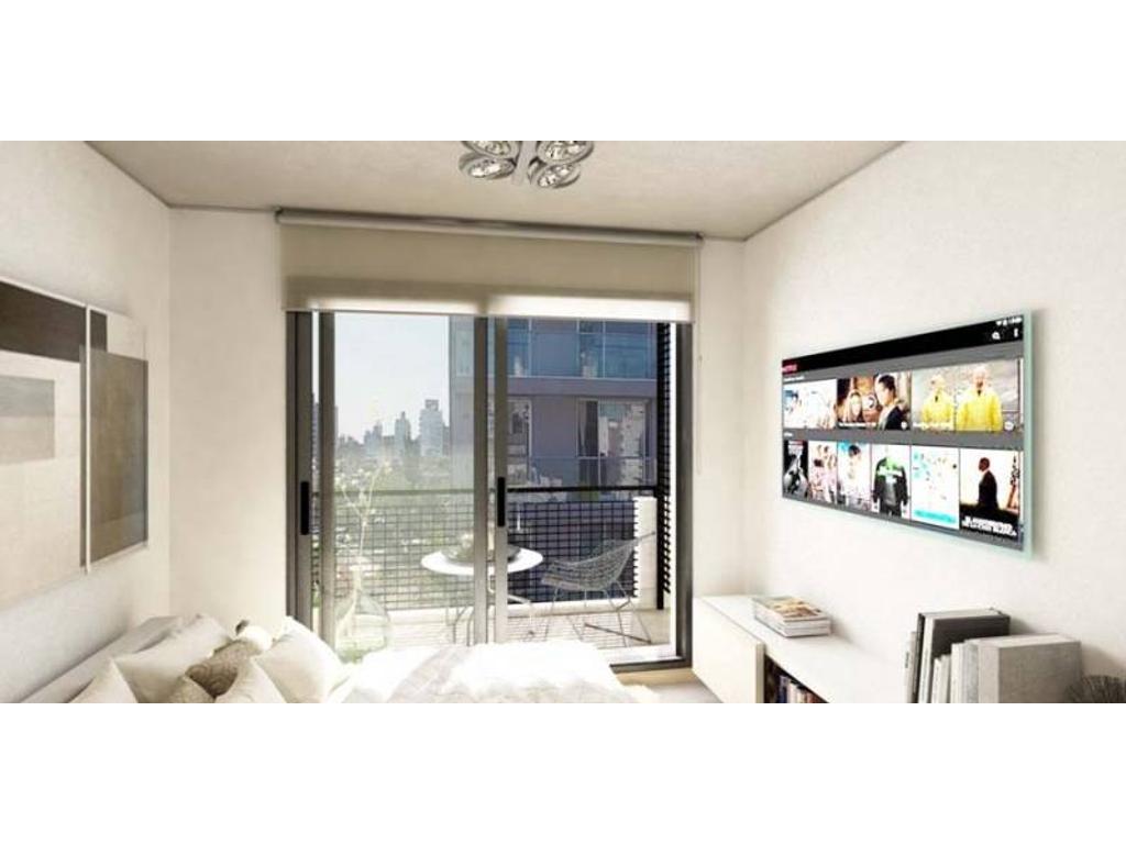Venta 2 dormitorios en construcción - Edificio Bidens Cafferata 1500