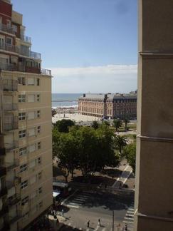 Departamento vista plaza Colon