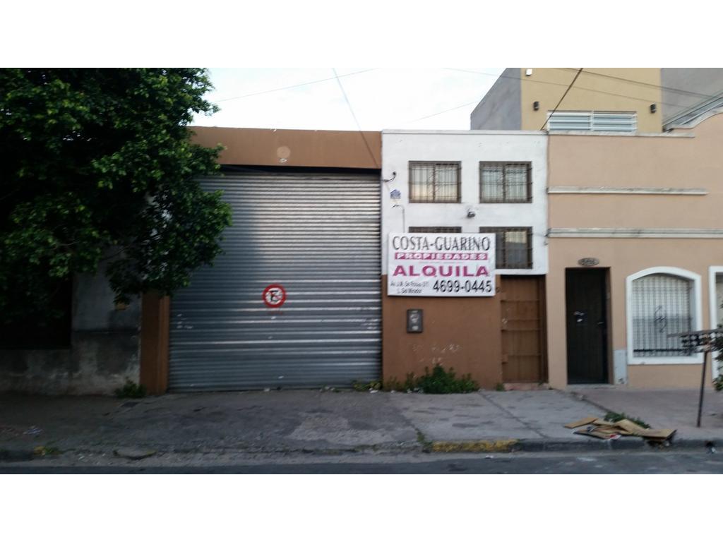 GALPON  DE 325 M2  SOBRE ALFREDO PALACIOS AL 3100