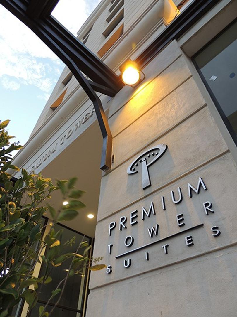 Torre Premium Tower Hotel , departamento 1 dormitorio. Av Illia 523, San Luis, capital.