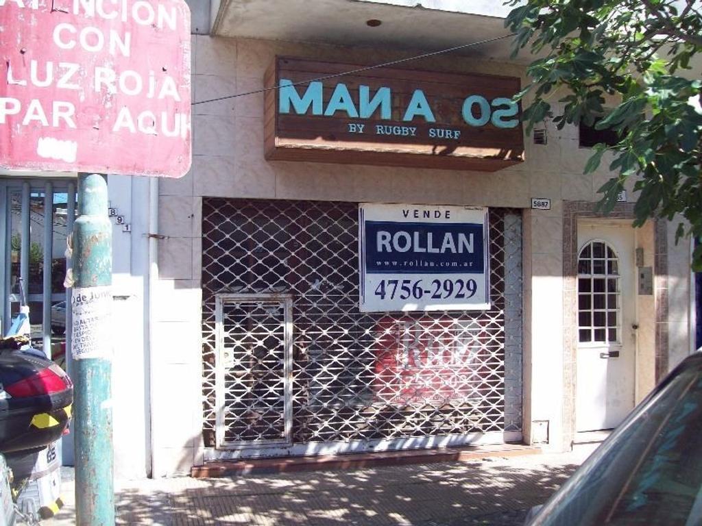 Muy buen local a metros del centro comercial en venta en Carapachay!!
