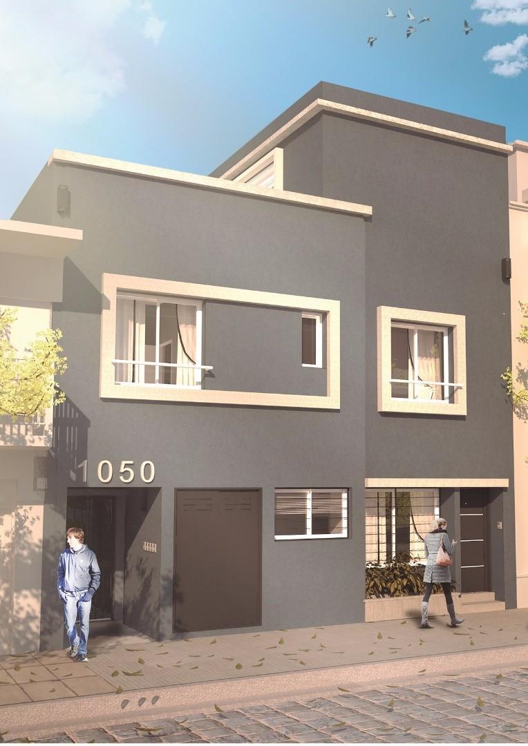 PH de 4 amb en 3 plantas. Patio y terraza. En construccion. Se entrega en Julio de 2019.