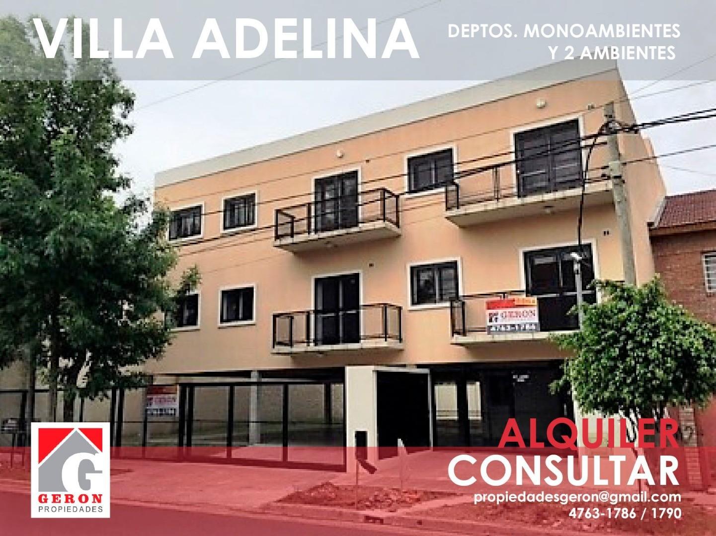 Departamento en Alquiler en Villa Adelina