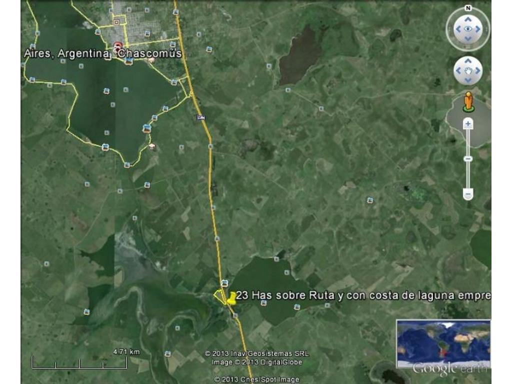 11 Hectareas Sobre Autovia 2 km 134 ADELA