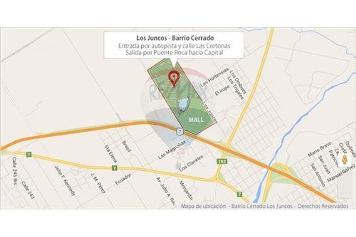 LUJAN,S/ ACCESO BARRIO LOS JUNCOS LOTE 1000 M2