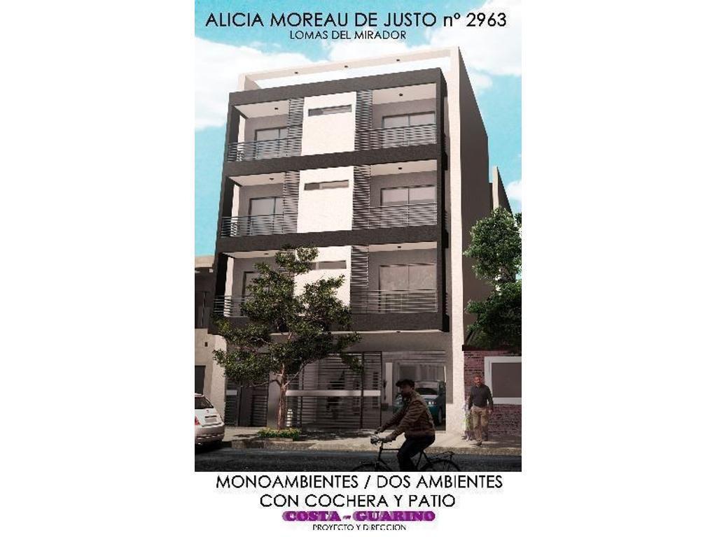 DPTO MONOAMBIENTE A 100 M AV GRAL PAZ, 200 M DE AV J M DE ROSAS Y 500 M DE AV MOSCONI