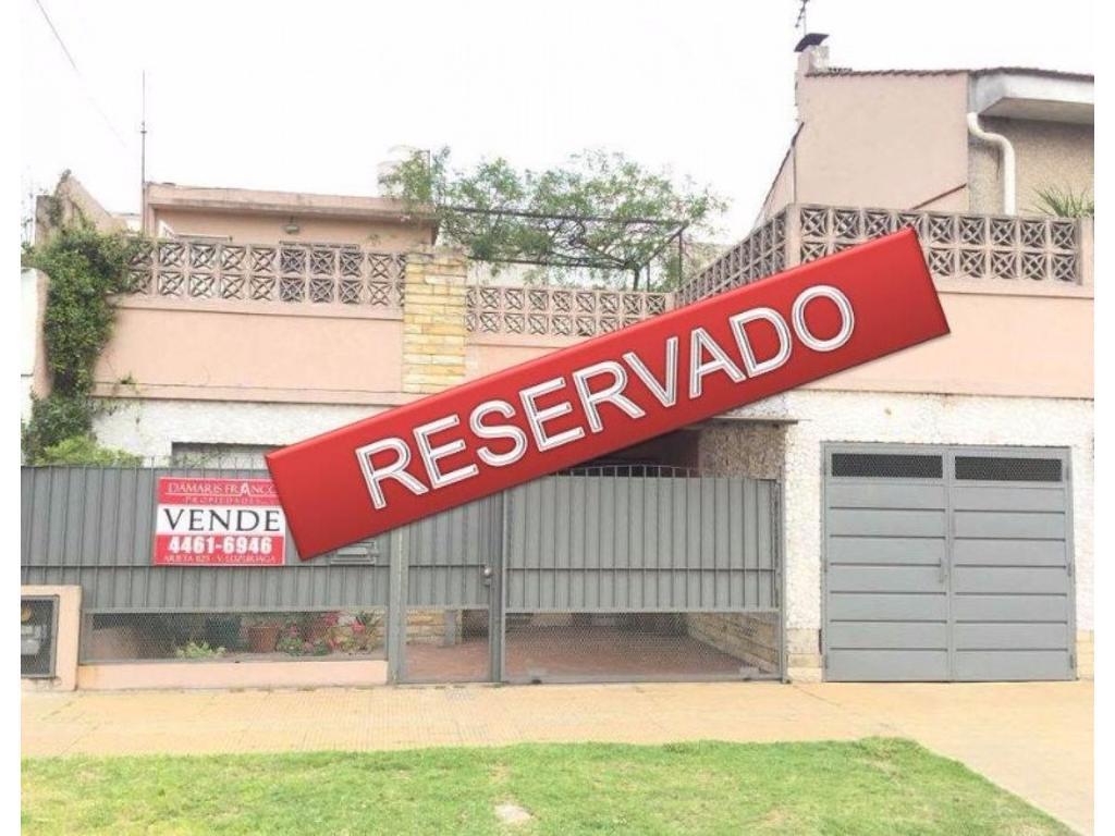 RESERVADO! Hermosa Casa 3 Amb + Dep. de Servicio