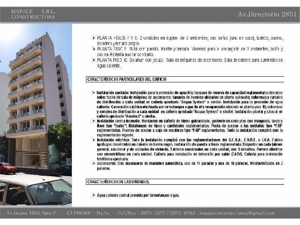 Excelente oportunidad .Depto. Monoambiente c/balcón A ESTRENAR Apto Prof.en Pozo