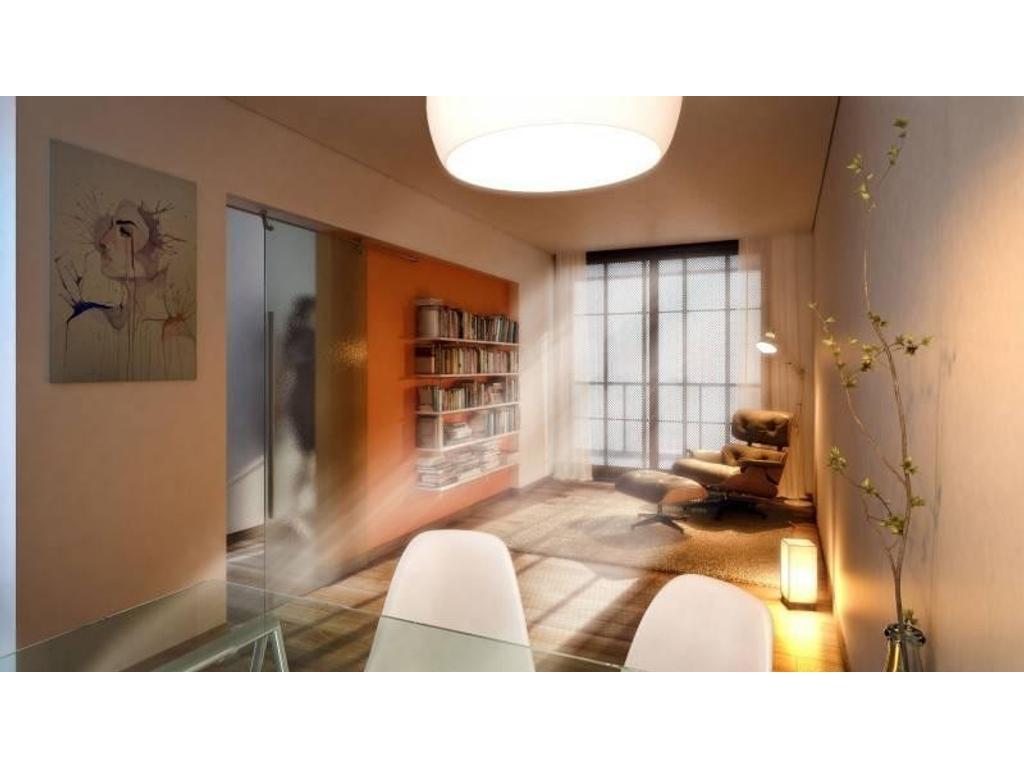 1 Dormitorio - Edificio de diseño en zona rio