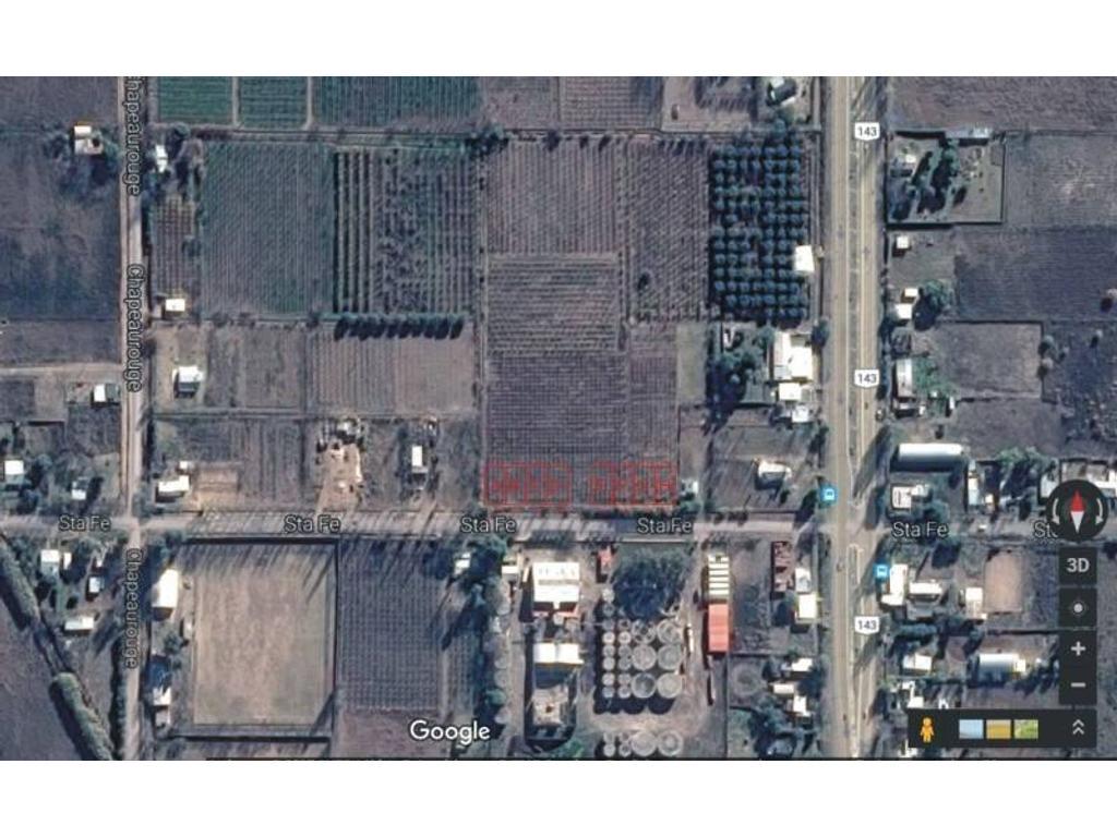 Mendoza. Lotes a la venta en General Alvear. Todos los servicios. Plantaciones existentes. a 2km de