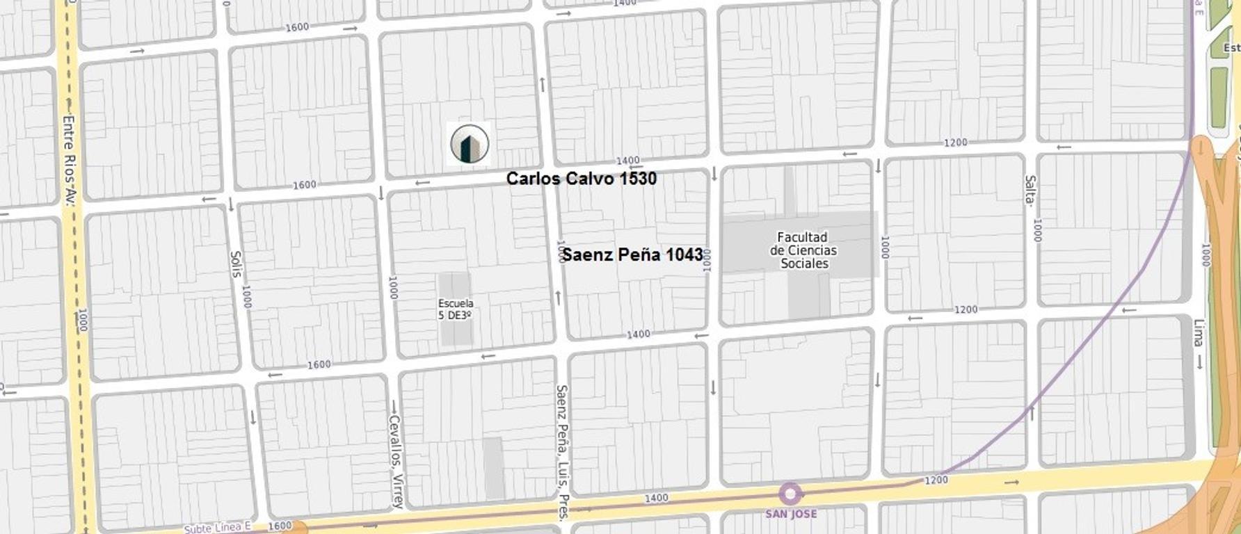XINTEL(COI-COI-737) Departamento - Venta - Argentina, Capital Federal - Presidente Luis Sáenz Peñ...