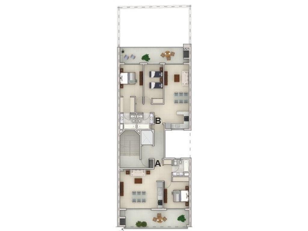 Emprendimiento desde el pozo - 3 ambientes muy luminoso - ideal inversión - excelente ubicación