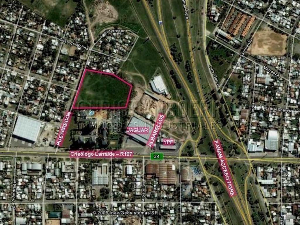 Panam Acc a Tigre y R197 - Fracción Logística de 16.200m - Proyecto para construir 10.000 m² cub
