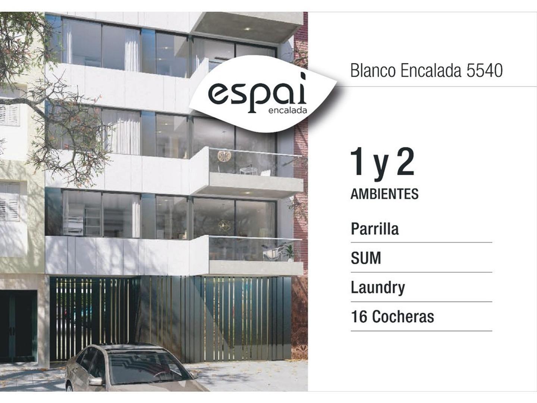 1 / 2 amb c/ amenities cuadras Av. Triunvirato / subte desde U$ 2700xm2
