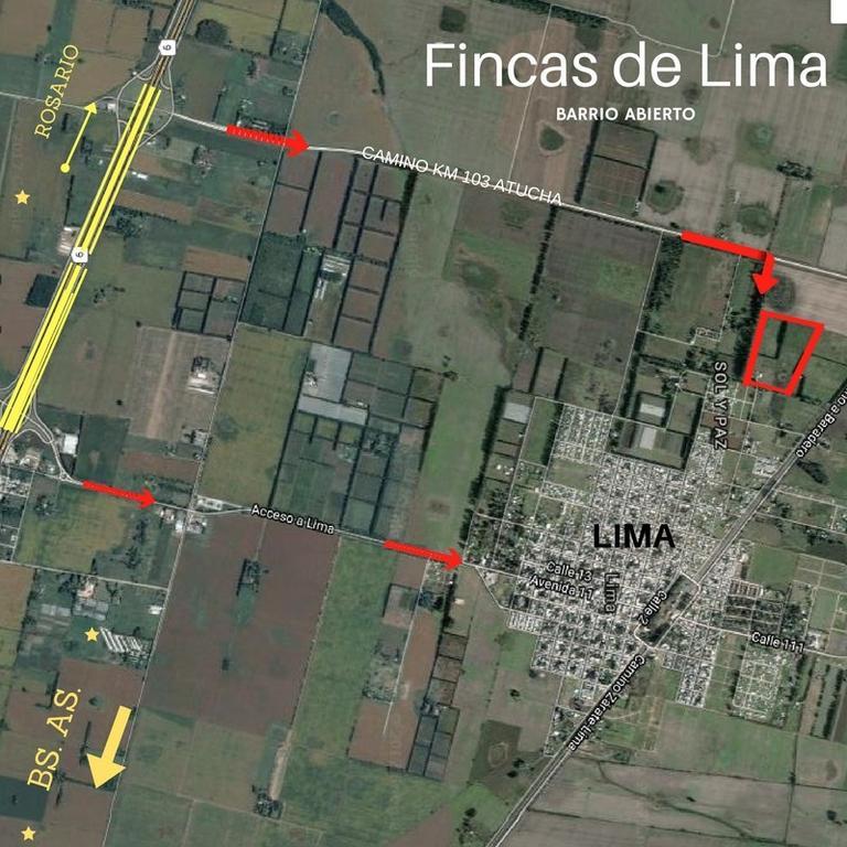 BARRIO ABIERTO FINCAS DE LIMA,Lotes desde1200 mts,