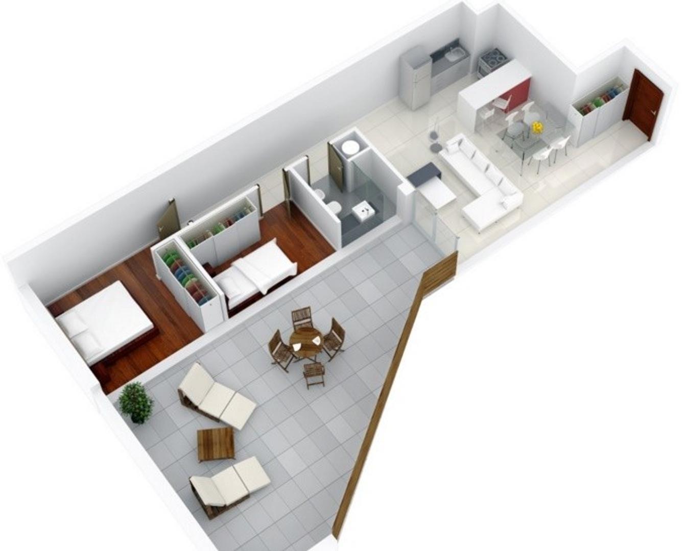 Canelones 1000 - 3 ambientes con cochera