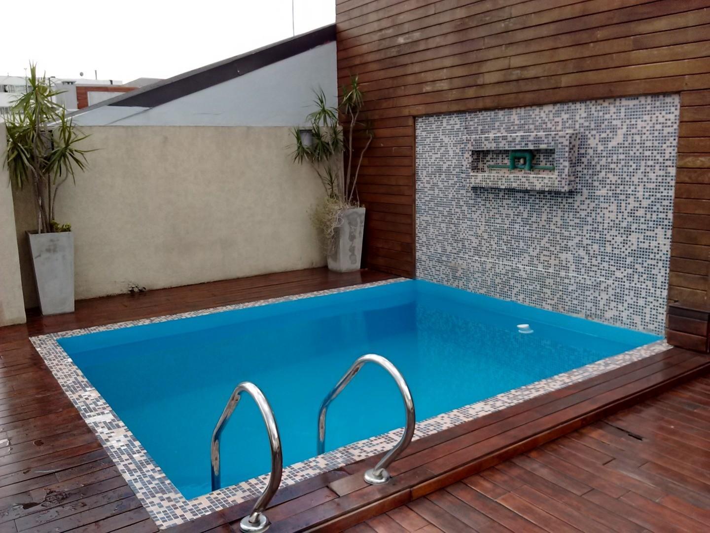 Departamento de 3 ambientes + 2 baños completos + balcón