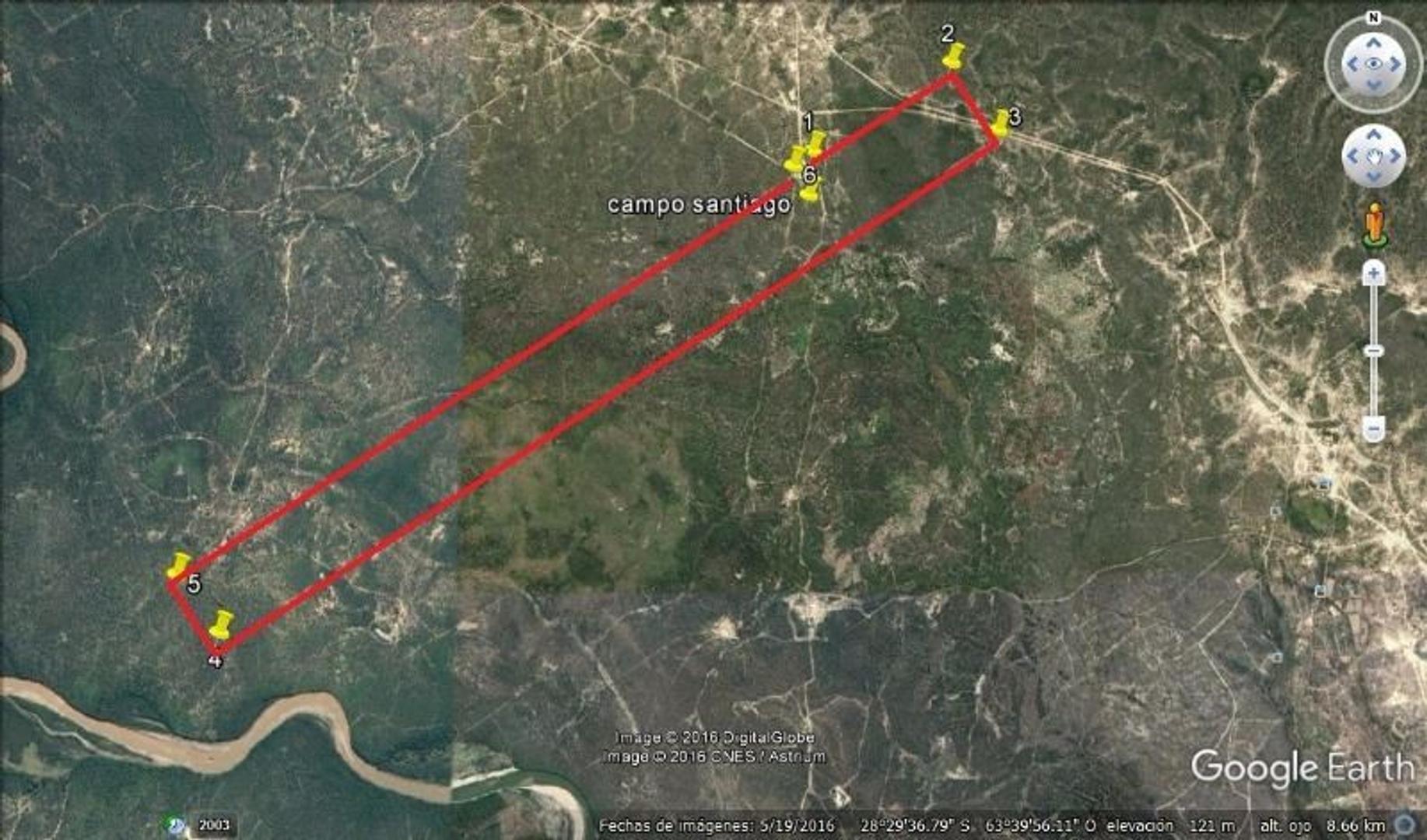 368 hectareas en Caloj, Departamento de Avellaneda, Santiago del Estero