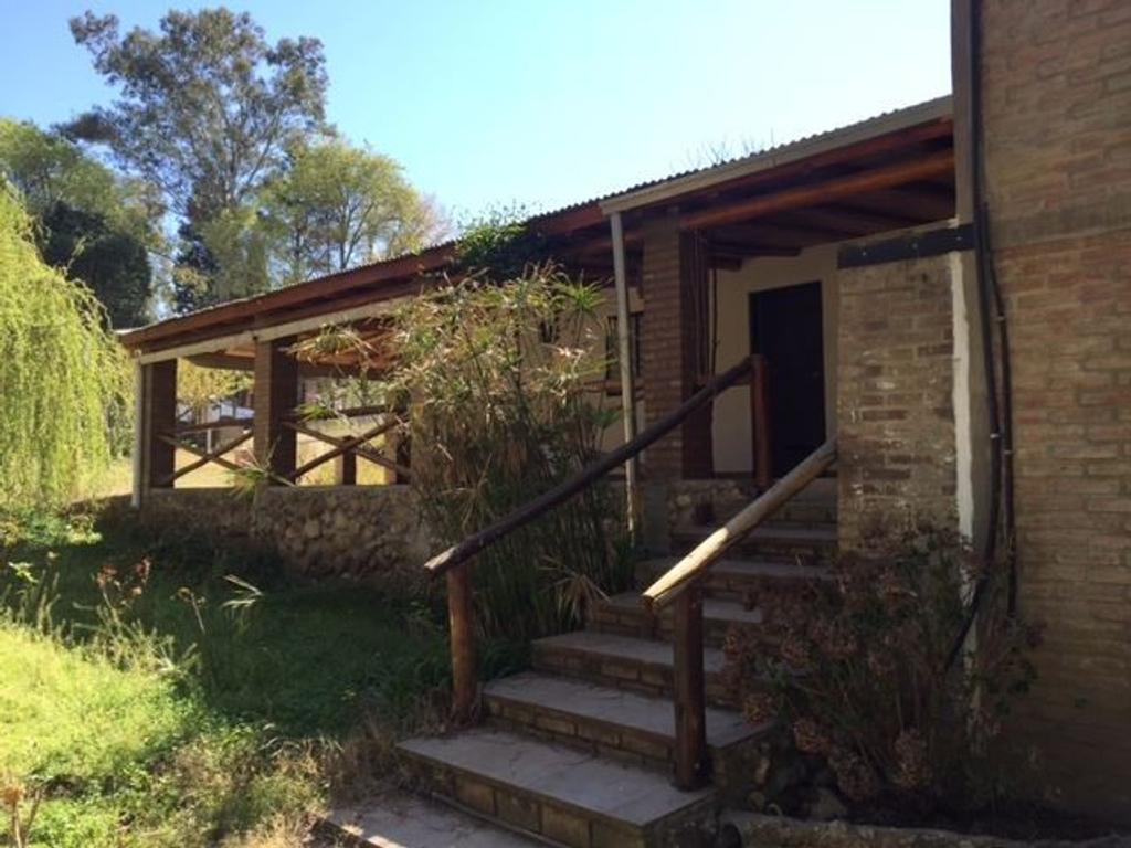 Casa en Potrero de Garay, a 50 mts del río!