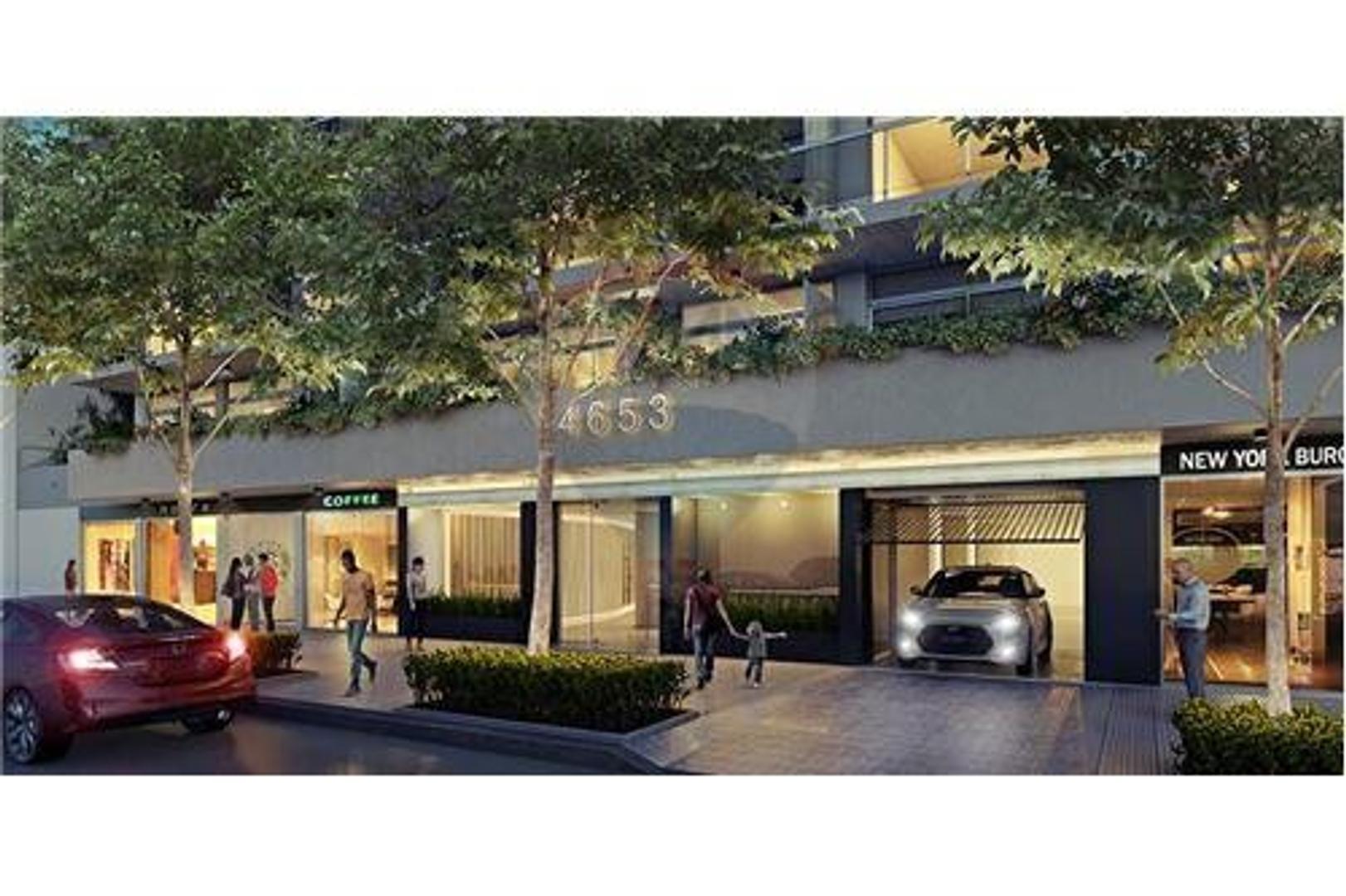 Monoambiente Balcón Categoría en Construcción