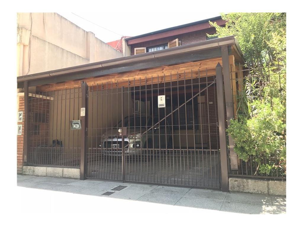 Duplex 4 AMB - Nuñez. Cochera y Patio.