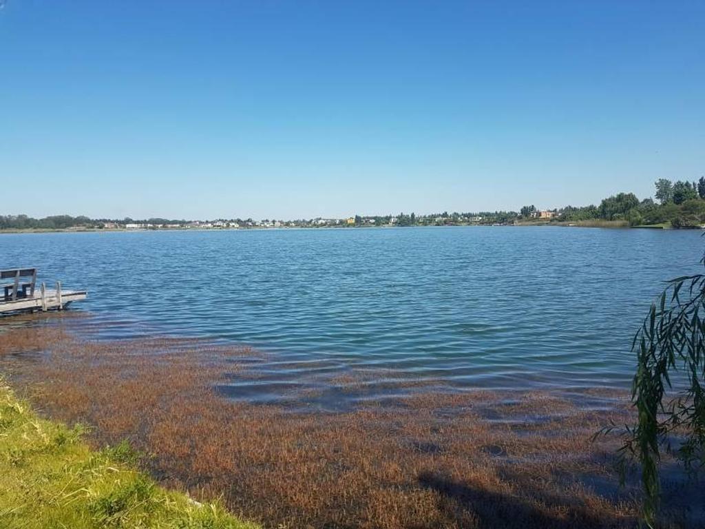 Venta lote Nº 20, sobre gran laguna en el anexo de Santa Clara, Villa Nueva de Tigre sobre la lagun